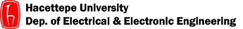 Department of Electrical and Electronic Engineering, Hacettepe University